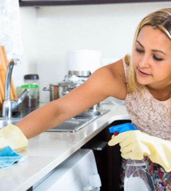 3 tricks to keep a clean kitchen