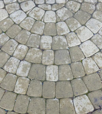 Add a unique touch to your backyard patio with pavers