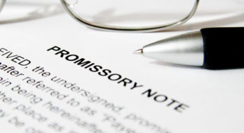 A detailed guide to fill a promissory note template