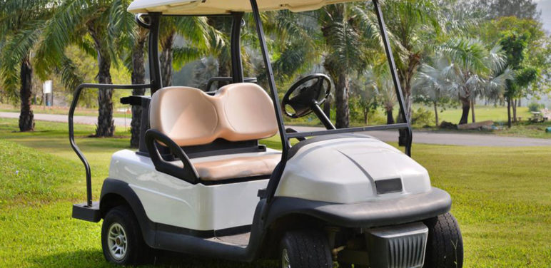Maintenance of golf cart batteries
