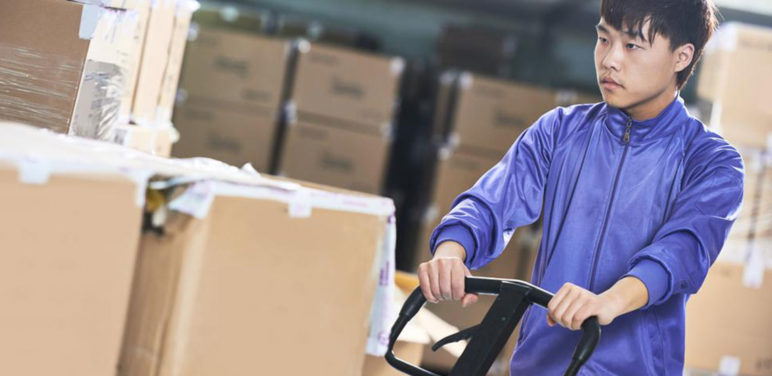 What are the job benefits offered to a FedEx package handler