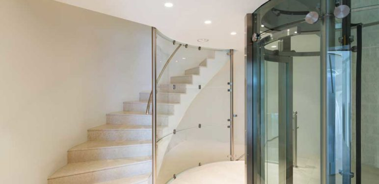 Four common types of home elevators