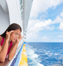 How to deal with sea sickness