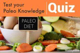 Test your Paleo Knowledge