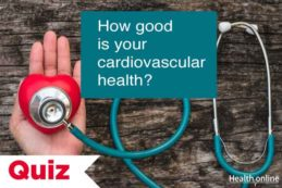 How good is your cardiovascular health?