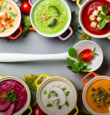 5 Vegetarian High Protein Soups to Pack for Work