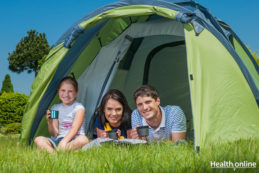 Camping with Your Kids in The Backyard