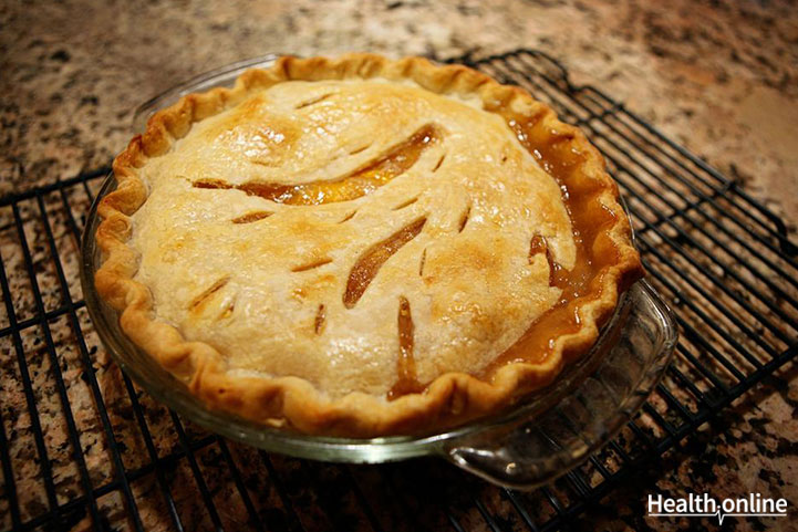 Which of the following is the healthiest option for holiday pie