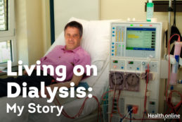 living with kidney dialysis
