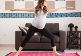 at-home pregnancy workout