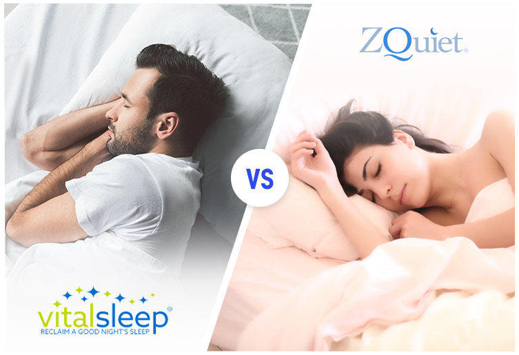 ZQuiet® or VitalSleep® – Which One Will Help You Stop Snoring?